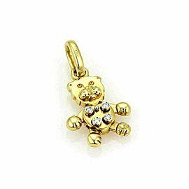 Pomellato Diamond Animated Lion 18k Yellow Gold Pendant Charm Rt. $3,800
