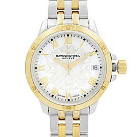Raymond Weil Tango Two-Tone Steel White Dial Quartz Ladies Watch 5960-STP-00308