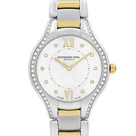 Raymond Weil Noemia Two-Tone Steel Diamond MOP Dial Ladies Watch 5132-SPS-00985