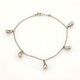 Tiffany & Co. Elsa Peretti Platinum Multi Tear Drop Bracelet