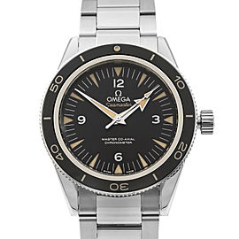 Omega Seamaster 300 Steel Black Dial Mens Automatic Watch 233.30.41.21.01.001
