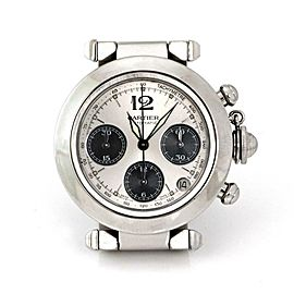 Cartier Pasha Chronograph Automatic SSteel 36.5mm Wrist Watch #2412