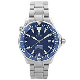 Omega Seamaster Professional Steel Blue Dial Automatic Mens Watch 2255.80.00