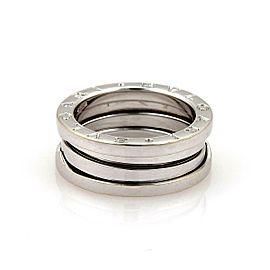 Bvlgari Bulgari B Zero-1 18k White Gold 7mm Band Ring Size 51-US 5.5