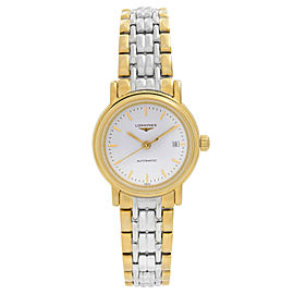 Longines Presence Two-Tone Steel White Dial Automatic Ladies Watch L4.321.2.12.7