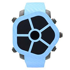 Jacob & Co. Ghost 5-Time Zone Carbon Bezel Blue Mens Watch GH100.11.NS.MC.ANL4D