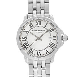 Raymond Weil Tango Stainless Steel White Dial Quartz Ladies Watch 5391-ST-00300
