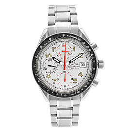 Omega Speedmaster Mark 40 Chronograph Steel White Dial Mens Watch 3513.33.00
