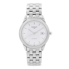 Longines Flagship Steel White Dial Automatic Mens Watch L4.874.4.12.6