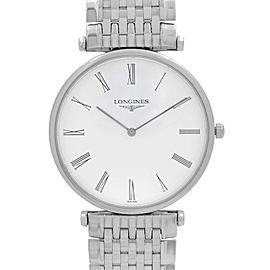 Longines La Grande Classique Steel White Dial Quartz Mens Watch L4.709.4.11.6
