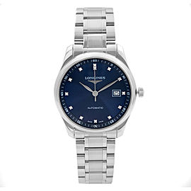 Longines Master Collection 40mm Steel Blue Dial Mens Watch L2.793.4.97.6