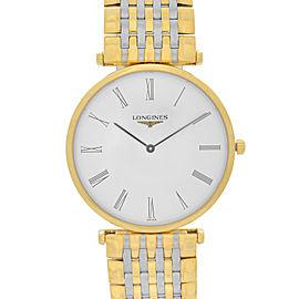 Longines La Grande Classique Two Tone Steel White Dial Quartz Watch L47092117