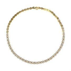 Hammerman Brothers 5.75ct Diamond 18k Yellow Gold Necklace