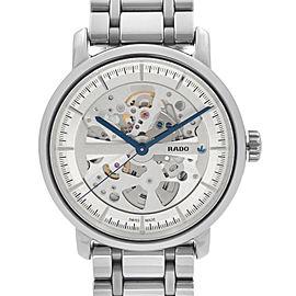 Rado Diamaster XL Ceramic Gray Skeleton Dial Automatic Mens Watch R14132122
