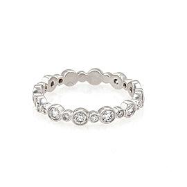 Tiffany & Co. Jazz Diamond Platinum Band Ring