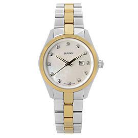 Rado Hyperchrome Steel Ceramic MOP Diamond Dial Quartz Ladies Watch R32975902