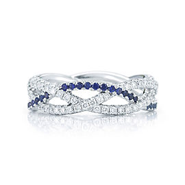 Kwiat 18k White Gold Ring From The Twist Collection