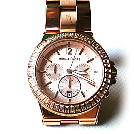 Michael Kors MK5412 Rose Gold 43mm Womens Watch