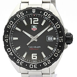 TAG HEUER Formula 1 Stainless Steel Quartz Mens Watch WAZ1110
