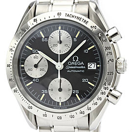 Polished OMEGA Speedmaster Date Steel Automatic Mens Watch 3511.50