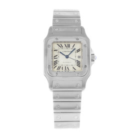 Cartier Santos W20055D6 29mm Mens Watch