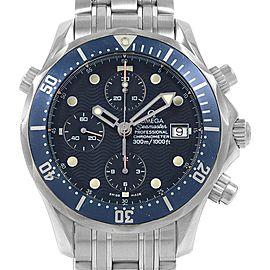 Omega Seamaster Bond Chronograph Steell Mens Watch 2599.80.00