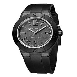 Bulgari Diagono Magnesium Automatic Date Mens Watch DG41C14SMCVD