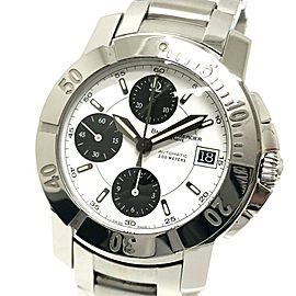BAUME & MERCIER MOA08490 Capeland Stainless Steel Dial Chronograph Wrist watch