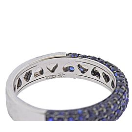 Sapphire Gold Band Ring