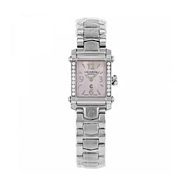 Charriol Ccstrdd.910.2014 Stainless Steel & Pink Mother of Pearl Dial 18mm Womens Watch
