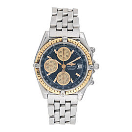Breitling Chronomat Chronograph D13050.1 18K Yellow Gold 40mm Mens Watch