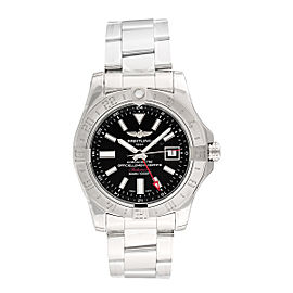 Breitling Avenger II GMT A3239011/BC35/170A Stainless Steel 43mm Mens Watch