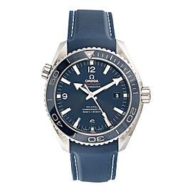 Omega Seamaster Planet Ocean 232.92.46.21.03.001 Titanium 45.5mm Mens Watch