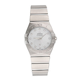 Omega Constellation 123.10.27.60.55.004 Stainless Steel Quartz 27mm Womens Watch