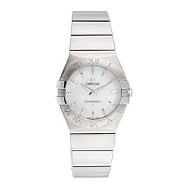 Omega Constellation 123.10.27.60.05.001 Stainless Steel Quartz 27mm Womens Watch