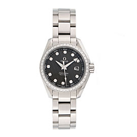 Omega Seamaster Aqua Terra 23115306156001 Stainless Steel 30mm Womens Watch