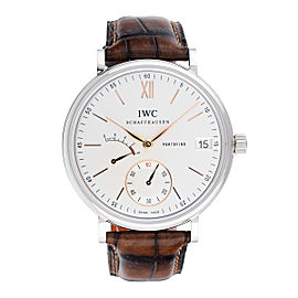 IWC Portofino IW510103 Stainless Steel Hand-Wound 45mm Mens Watch