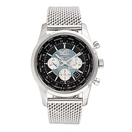 Breitling Transocean AB0510U4.BB62.152A Stainless Steel 46mm Mens Watch