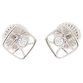 Hearts On Fire 18K White Gold with Diamond Earrings