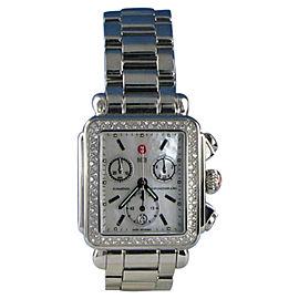 Michele MWW06P000110 Deco Diamond 0.60cts Chronograph Quartz Ladies Watch