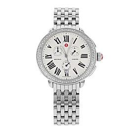 Michele Serein Diamond MWW21A000001 Stainless Steel Quartz Womens Watch