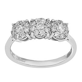 Morellato 18K White Gold with 0.75ctw Diamonds Ring Size 7