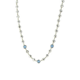 Ippolita Rock Candy 925 Sterling Silver Blue Topaz Necklace