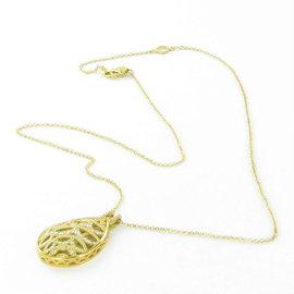 Tacori Champagne Sunset 18K Yellow Gold & 0.51cts Diamond Pendant Necklace