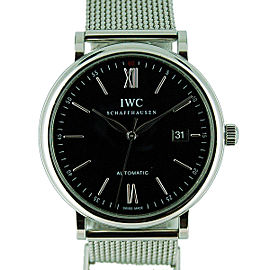 IWC Portofino IW356506 Stainless Steel Automatic 40mm Mens Watch