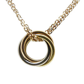 Cartier 18k White, Yellow and Rose Gold Sweet Trinity Necklace