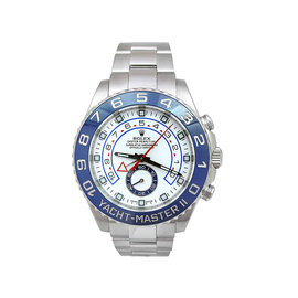 Rolex Yachtmaster II 116680 Stainless Steel 44mm Mens Watch