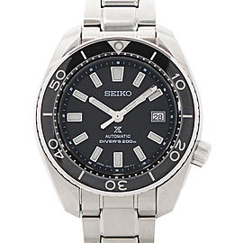 Seiko Prospex Diver SBDC027(6R15-02T0) Stainless Steel Black 45mm Mens Watch