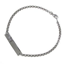 Chaumet 18k White Gold with Diamond Liens De Chaumet Bracelet