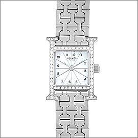 Hermes H HH1.130 Stainless Steel Quartz 24mm Womens Watch